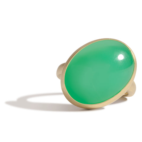 Zoe Fan Ring - Peacock