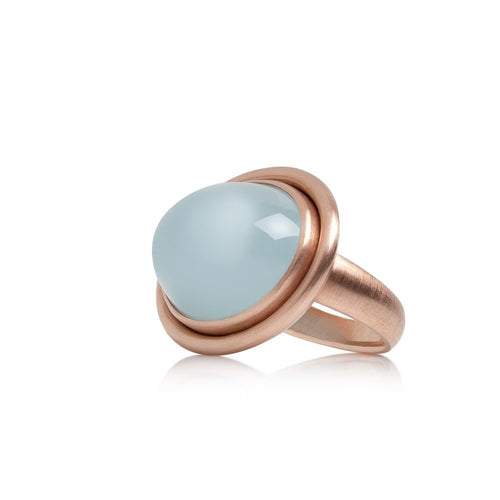 Selin Kent 14K Ada Ring Aquamarine