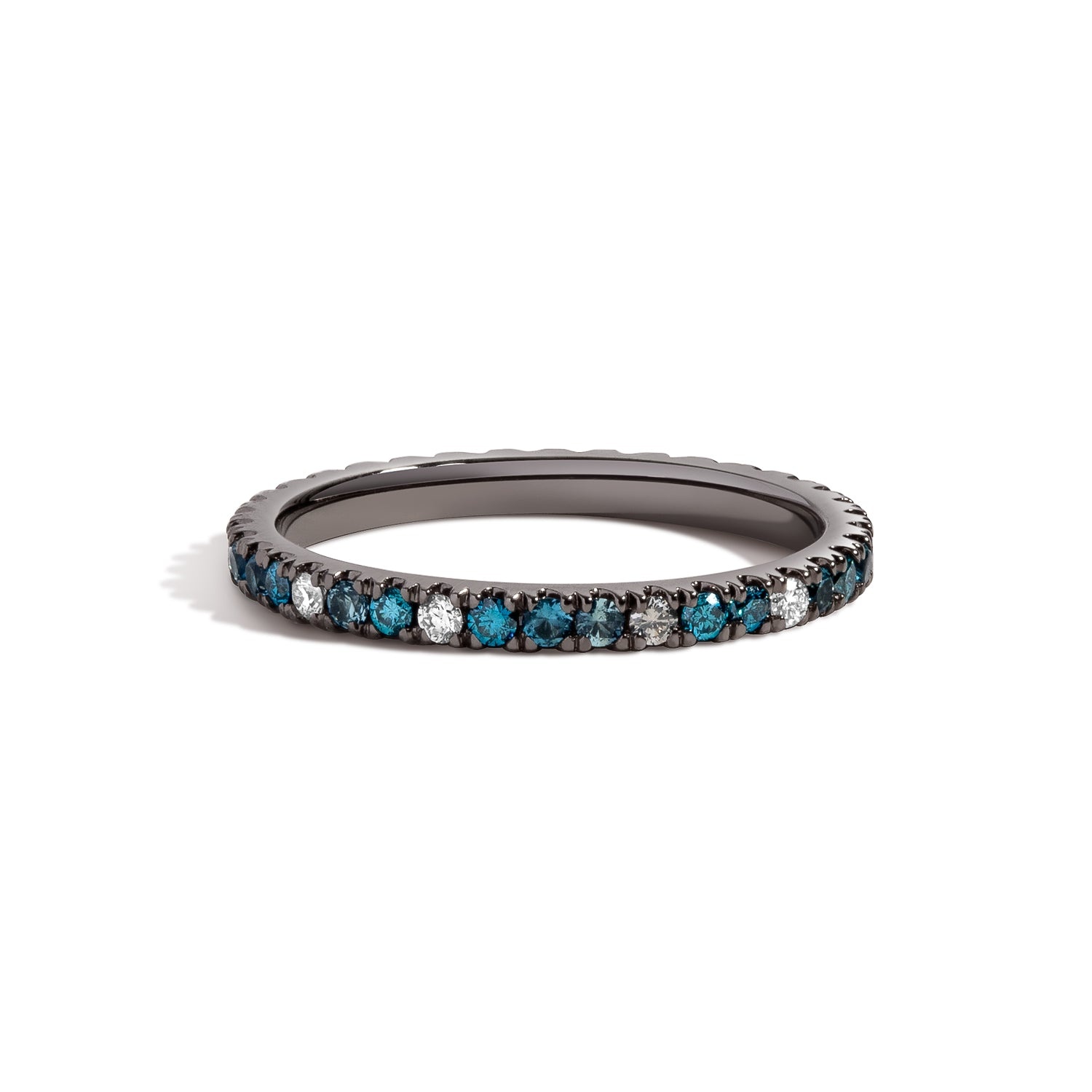 Aegean Blue Eternity Ring