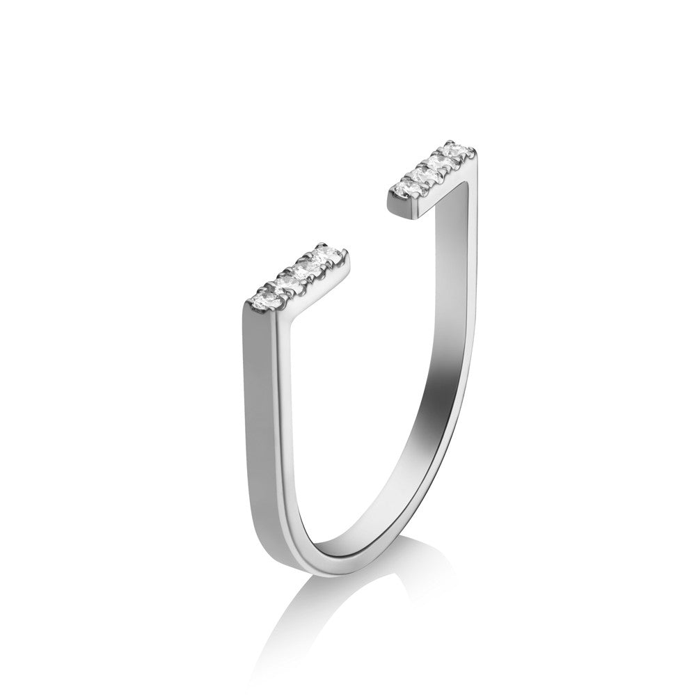 Selin Kent 14K Anais Ring with White Diamonds