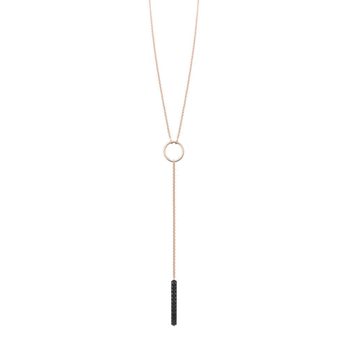 Ava Lariat | Black Diamonds
