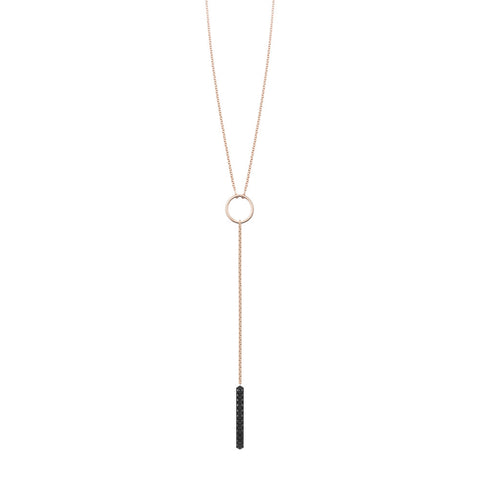 Marlene Necklace | Black Diamonds