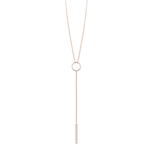 Ava Lariat | White Diamonds