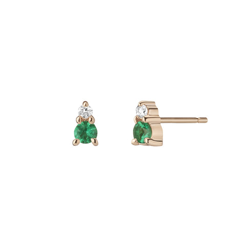 Ayda Earrings - White Diamonds