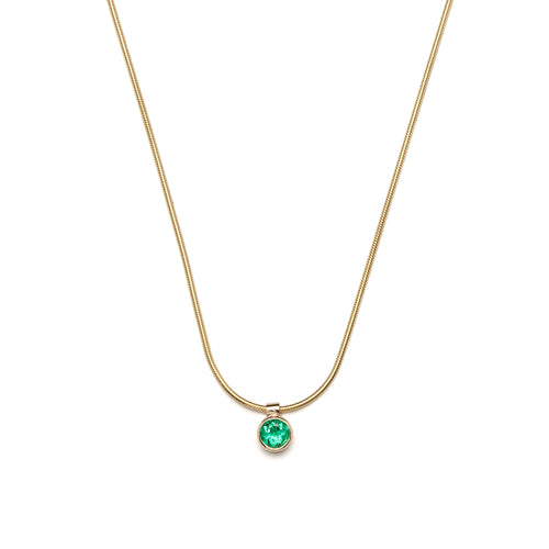 Cleo Necklace - Emerald