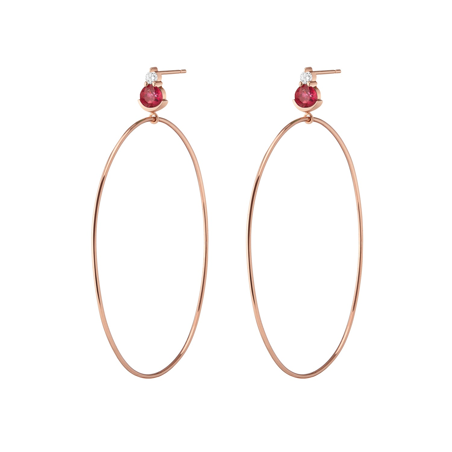 Ayda Hoops | Ruby