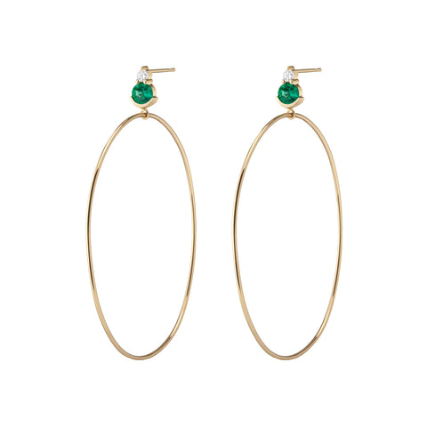 Ayda Hoops - Ruby