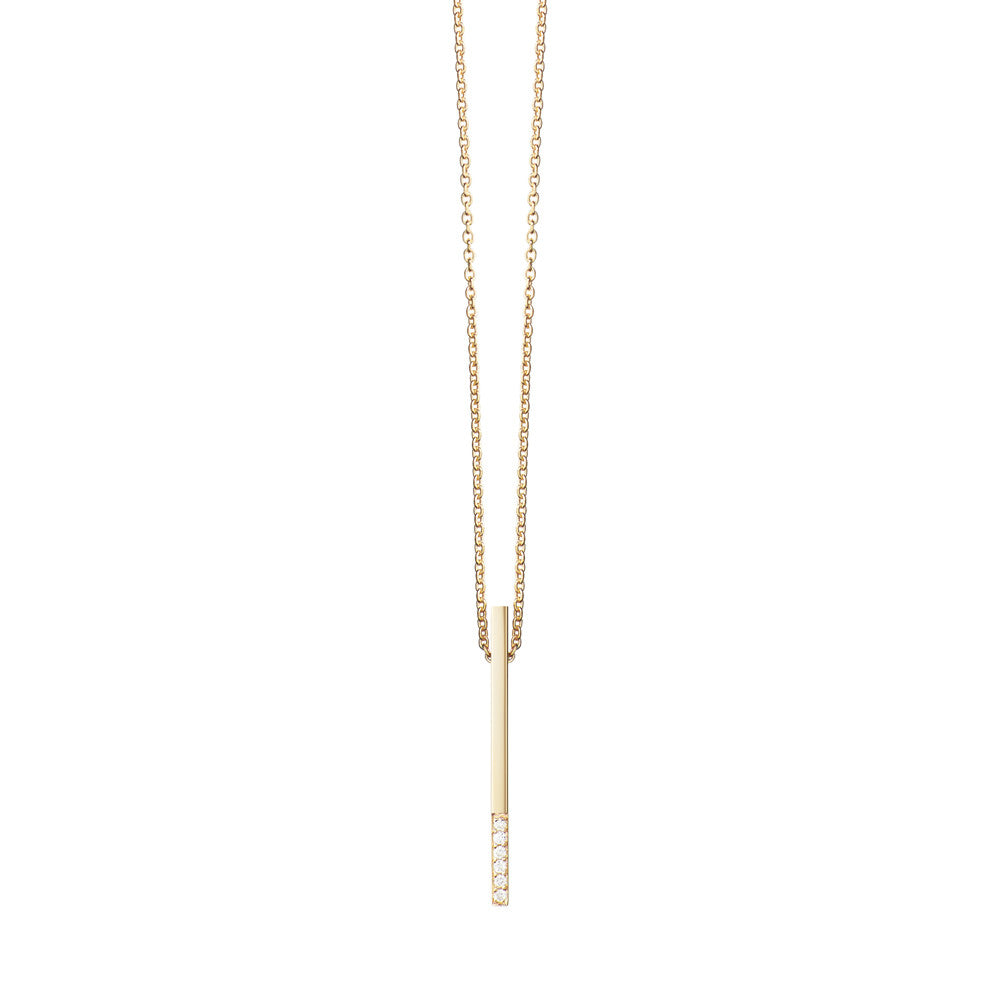 Selin Kent 14K Ella Necklace with White Diamonds