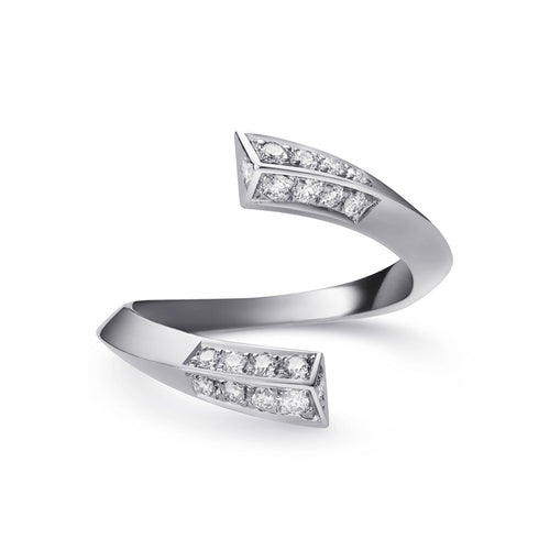 Selin Kent 14K Eva Ring with White Diamonds