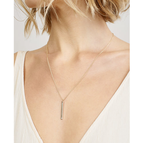 Gaia Vertical Necklace