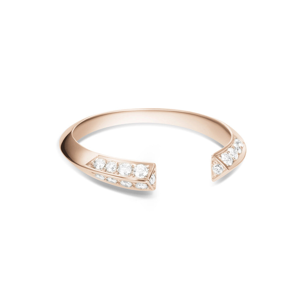 Selin Kent 14K Greta Ring with White Diamonds