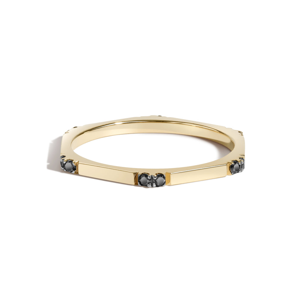 Hex Ring II | Black Diamonds