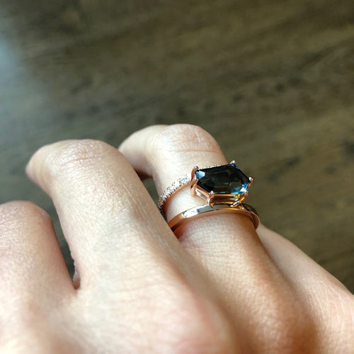 Asymmetrical Tourmaline Ring
