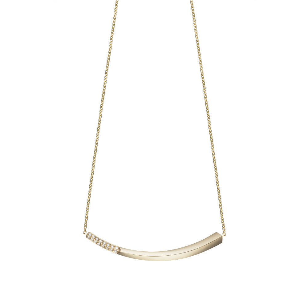 Selin Kent 14K Lana Necklace with White Diamonds