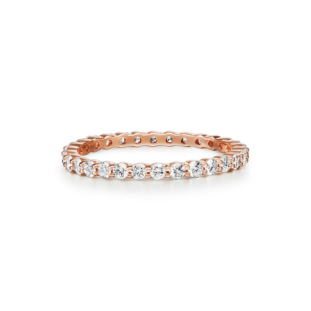 Selin Kent 14K Lara Ring with White Diamonds