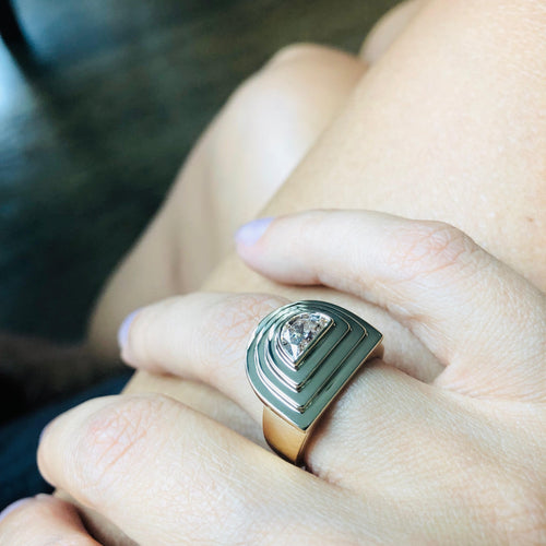 Luna Step Ring
