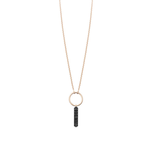 Selin Kent 14K Marlene Necklace with Black Diamonds