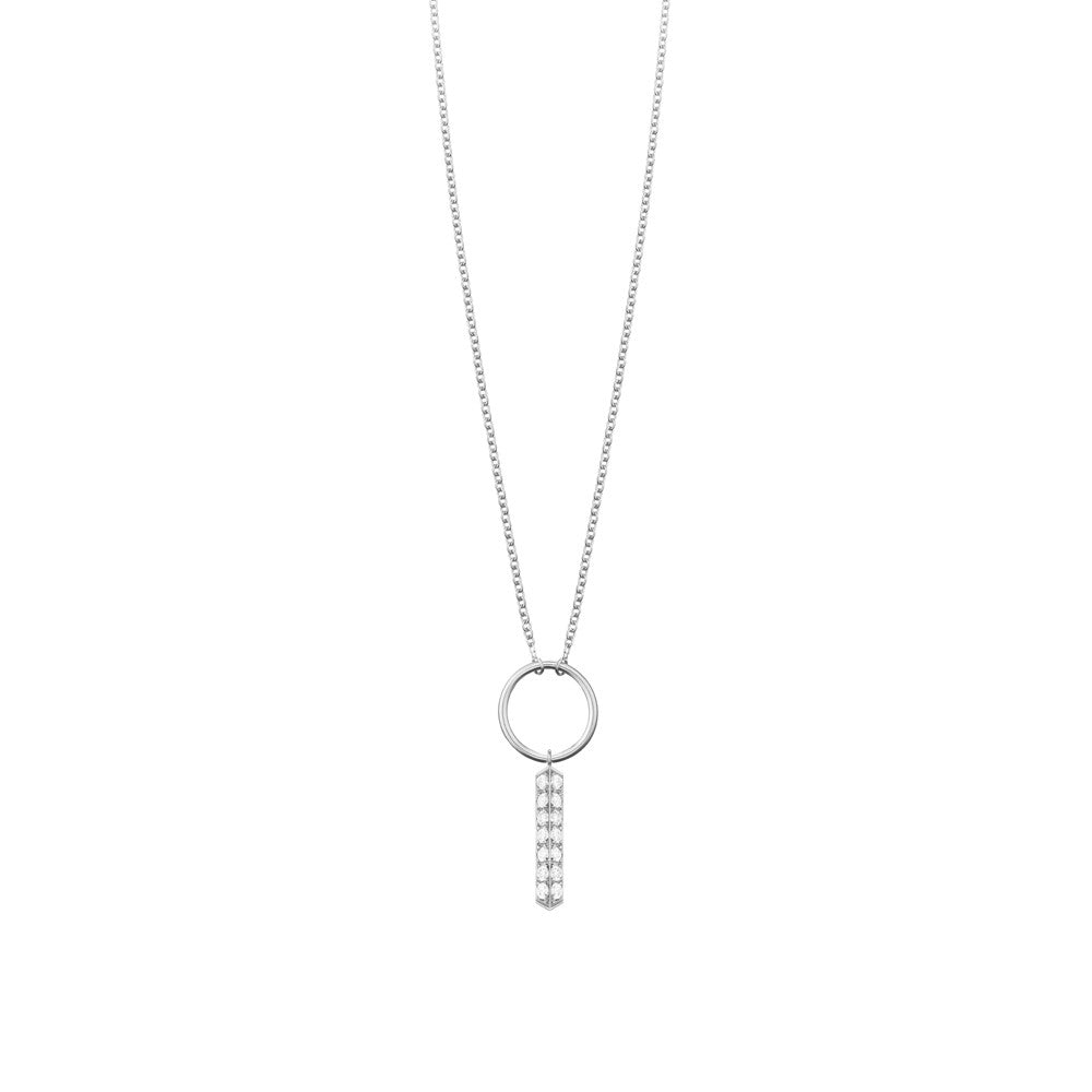 Selin Kent 14K Marlene Necklace with White Diamonds