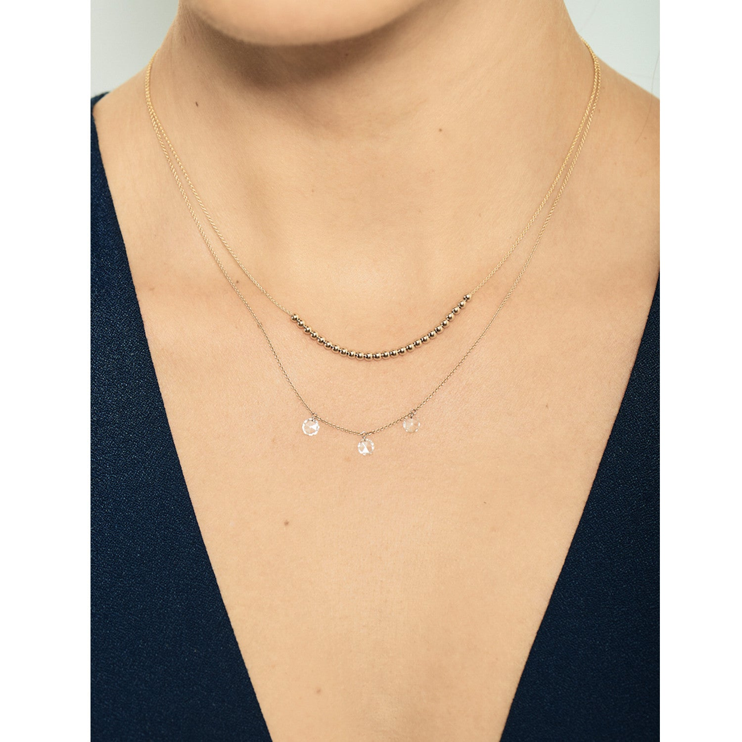 Selin Kent 14K Maya Necklace - On Model