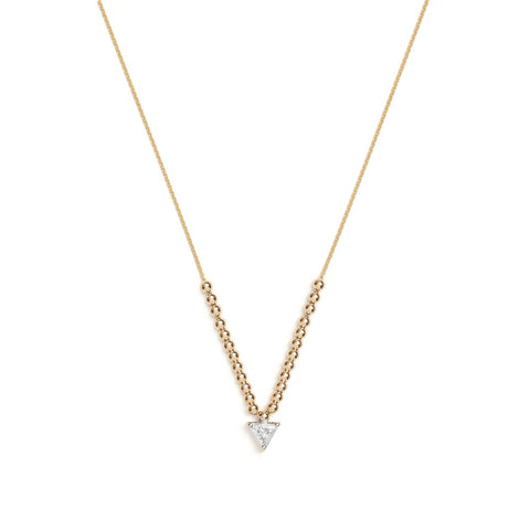 Ersa Necklace - Yellow Diamond