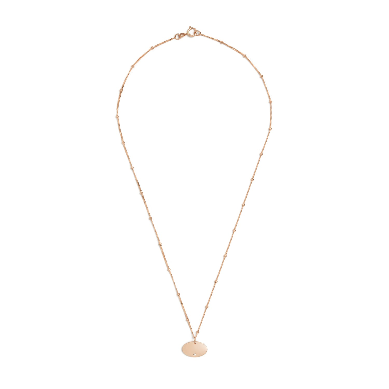 Ella Oval Necklace