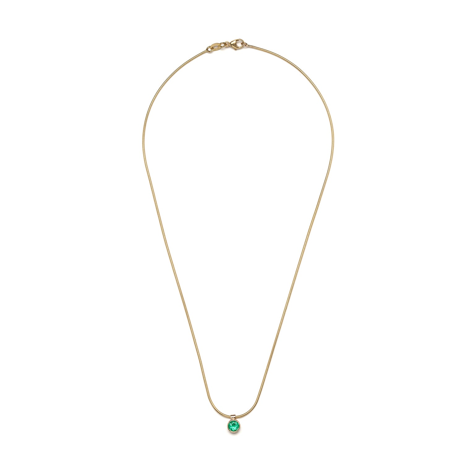 Clea Necklace - Emerald