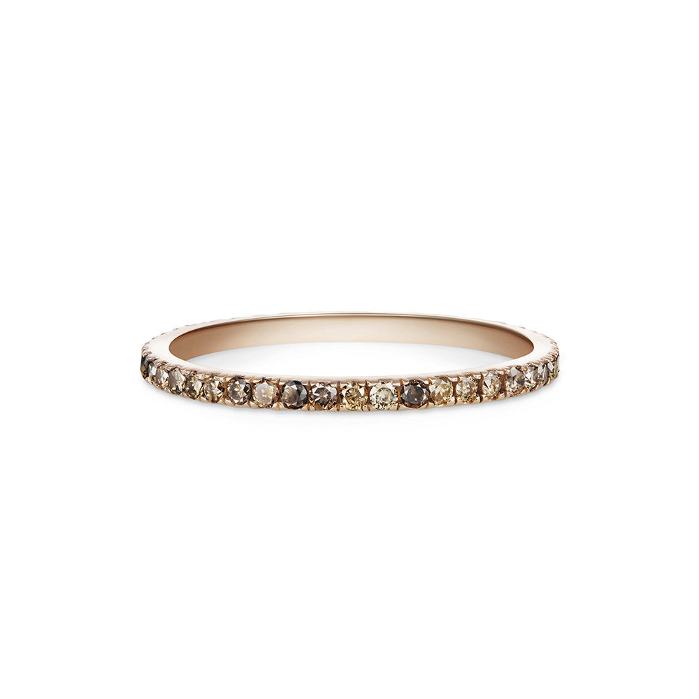 florence michael diamond pave eternity b bands micro band