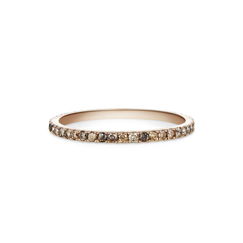 Selin Kent 14K Pavé Eternity Band with Champagne Diamonds