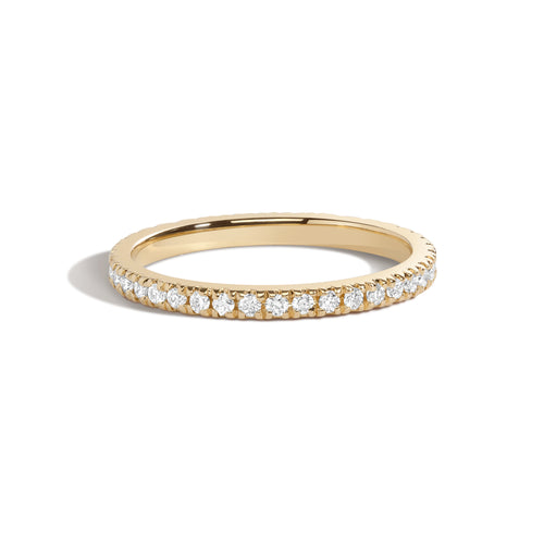 Pavé Eternity Band | White Diamonds
