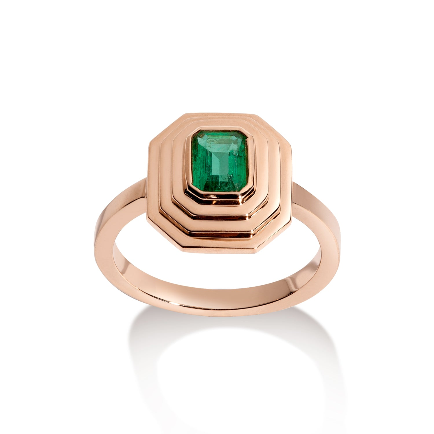 Isabelle Ring - Emerald