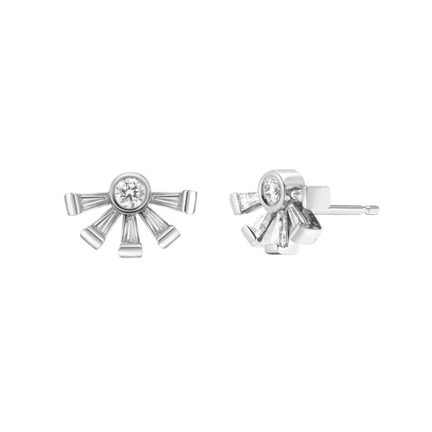 Ayda Earrings | White Diamonds