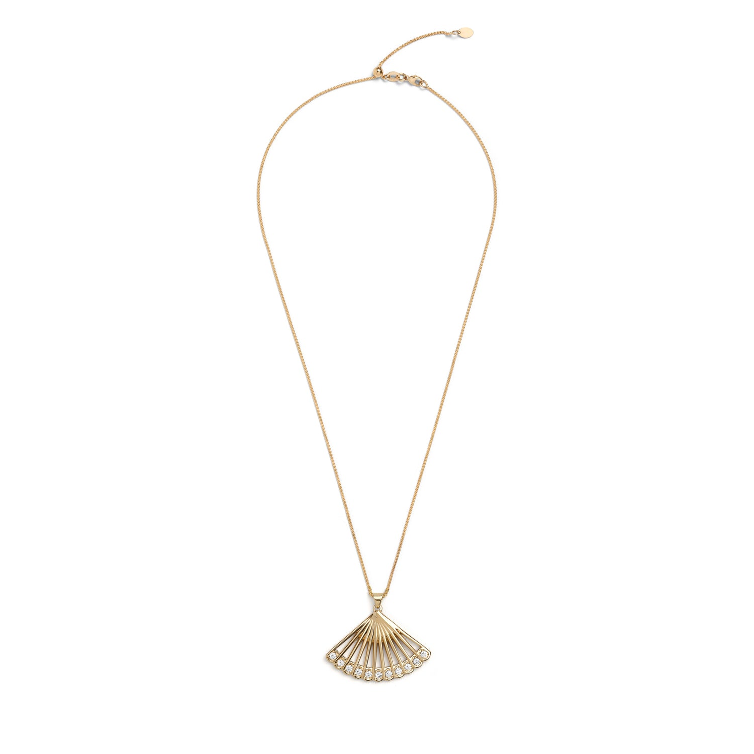 Zoe Fan Necklace
