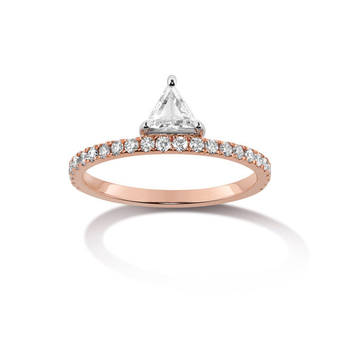 Nikita Ring - White Diamond
