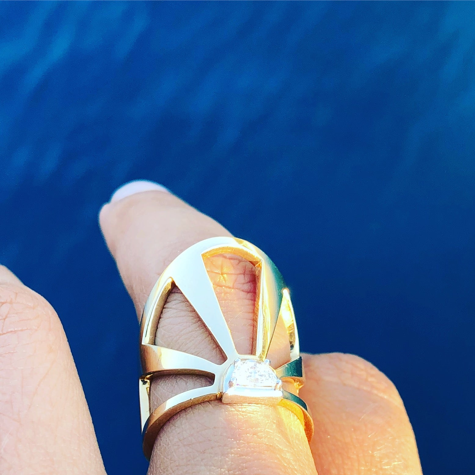 Summer Solstice Ring