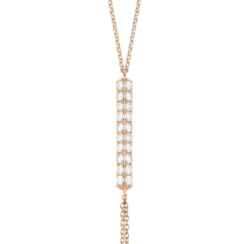 Selin Kent 14K Valli Lariat with White Diamonds