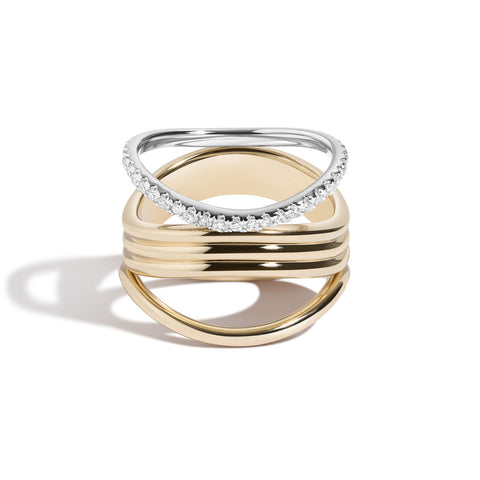 Bossa Nova Trio & Diamond Ring Set