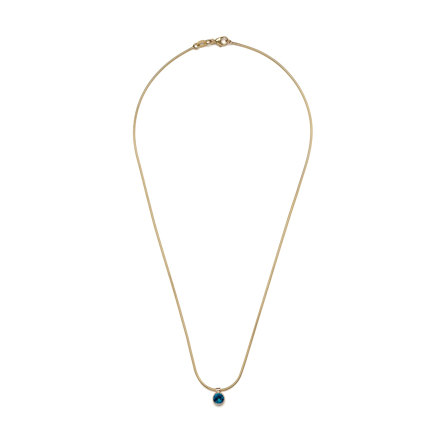 Clea Necklace - Sapphire