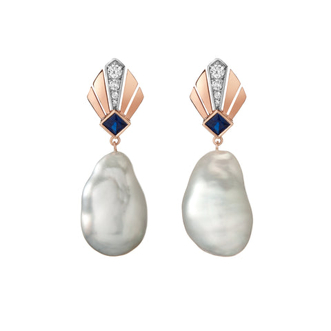 Sema Earrings - Opal