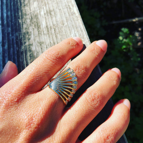 Selin Kent's Zoe Fan Ring