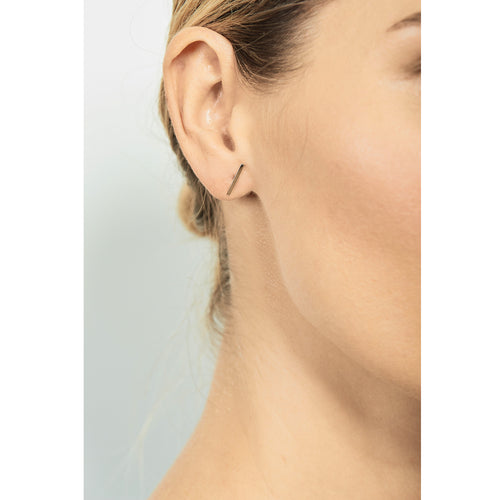 Selin Kent 14K Charlotte Studs - On Model
