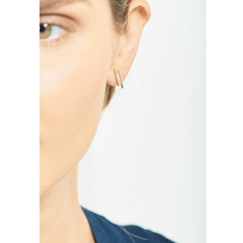 Elena Earring | White Diamonds
