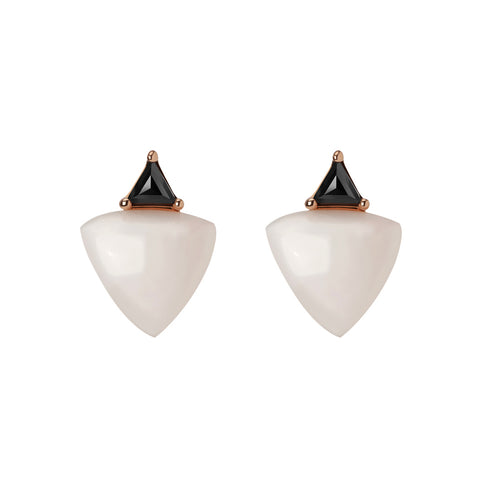 Marlene Mismatch Earrings | Black Diamonds