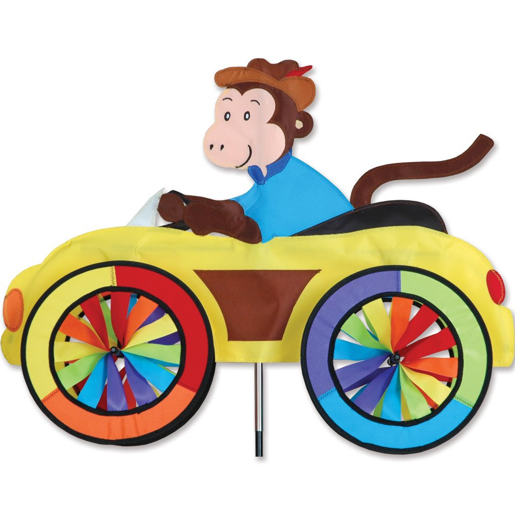 MONKEY CAR SPINNER