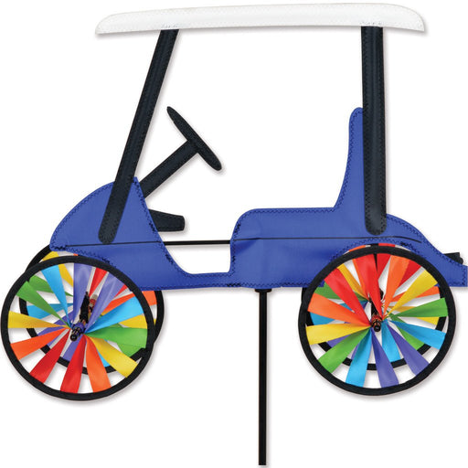 BLUE GOLF CART 17'' SPINNER