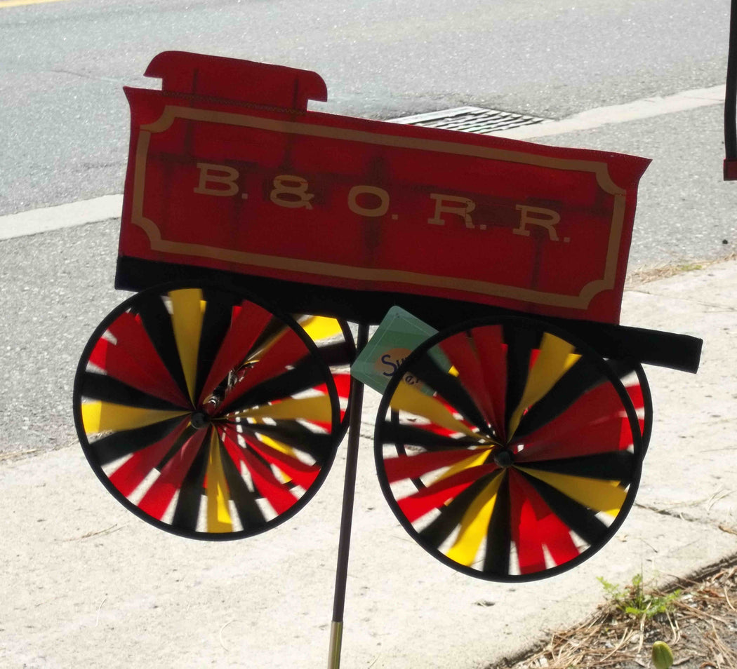 B & O TENDER TRAIN SPINNER