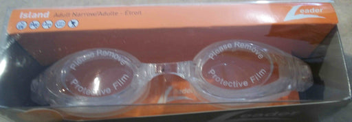 ISLAND GOGGLES ADULT NARROW FACES CLEAR / CLEAR LEADER
