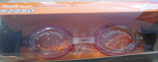 ZENITH GOGGLES ADULT NARROW FACES CLEAR / RUBY LEADER