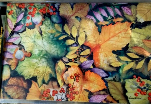 COLORS OF AUTUMN MAILBOX COVER