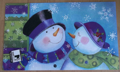 SNOW COUPLE INDOOR / OUTDOOR MAT