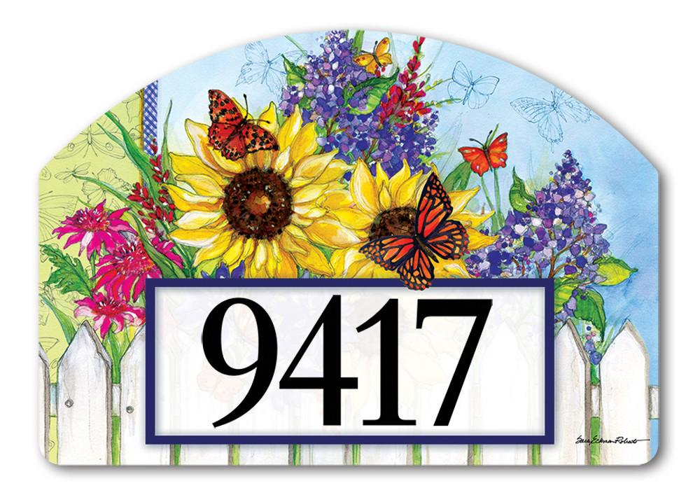 BUTTERFLIES & BLOSSOM MAGNETIC ADDRESS